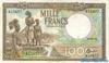 1000 Франков выпуска 1949 года, Конго (Бельгийское Конго). Подробнее...