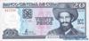 20 Песо выпуска 2001 года, Куба. Подробнее...