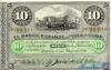 10 Песо выпуска 1896 года, Куба. Подробнее...