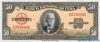50 Песо выпуска 1958 года, Куба. Подробнее...