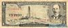 1 Песо выпуска 1958 года, Куба. Подробнее...