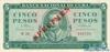 5 Песо выпуска 1965 года, Куба. Подробнее...