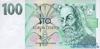 100 Крон выпуска 1997 года, Чехия. Подробнее...