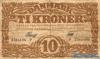 10 Крон выпуска 1928 года, Дания. Подробнее...