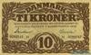 10 Крон выпуска 1936 года, Дания. Подробнее...
