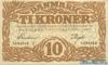 10 Крон выпуска 1943 года, Дания. Подробнее...