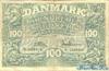100 Крон выпуска 1957 года, Дания. Подробнее...