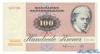 100 Крон выпуска 1991 года, Дания. Подробнее...