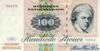 100 Крон выпуска 1972 года, Дания. Подробнее...