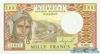 1.000 Франков выпуска 1991 года, Джибути. Подробнее...