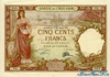 500 Франков выпуска 1927 года, Джибути. Подробнее...