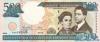 500 Песо выпуска 2000 года, Доминиканская Республика. Подробнее...