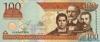100 Песо выпуска 2002 года, Доминиканская Республика. Подробнее...