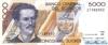 5000 Сукре выпуска 1995 года, Эквадор. Подробнее...
