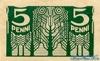 5 Пенни выпуска 1919 года, Эстония. Подробнее...