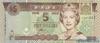 5 Долларов выпуска 2002 года, Фиджи. Подробнее...