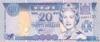 20 Долларов выпуска 2002 года, Фиджи. Подробнее...