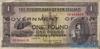1 Фунт выпуска 1940 года, Фиджи. Подробнее...