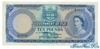 10 Фунтов выпуска 1964 года, Фиджи. Подробнее...