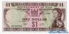 1 Доллар выпуска 1968 года, Фиджи. Подробнее...