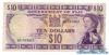 10 Долларов выпуска 1971 года, Фиджи. Подробнее...