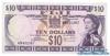 10 Долларов выпуска 1974 года, Фиджи. Подробнее...