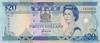 20 Долларов выпуска 1992 года, Фиджи. Подробнее...