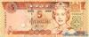 5 Долларов выпуска 1995 года, Фиджи. Подробнее...