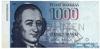 1000 Марок выпуска 1986 года, Финляндия. Подробнее...