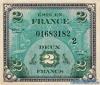2 Франка выпуска 1944 года, Франция. Подробнее...