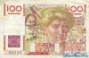 100 Франков выпуска 1945 года, Франция. Подробнее...