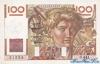 100 Франков выпуска 1952 года, Франция. Подробнее...
