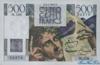 500 Франков выпуска 1953 года, Франция. Подробнее...