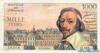 1000 Франков выпуска 1958 года, Франция. Подробнее...