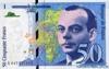 50 Франков выпуска 1999 года, Франция. Подробнее...