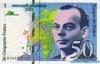 50 Франков выпуска 1992 года, Франция. Подробнее...