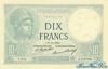 10 Франков выпуска 1916 года, Франция. Подробнее...