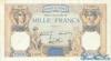 1000 Франков выпуска 1938 года, Франция. Подробнее...
