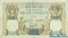 1.000 Франков выпуска 1938 года, Франция. Подробнее...