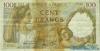100 Франков выпуска 1942 года, Франция. Подробнее...