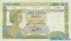 500 Франков выпуска 1942 года, Франция. Подробнее...