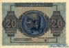 20 Драхм выпуска 1944 года, Греция. Подробнее...