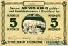 5 Крон выпуска 1913 года, Гренландия. Подробнее...