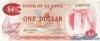 1 Доллар выпуска 1966 года, Гайана. Подробнее...