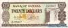 20 Долларов выпуска 1989 года, Гайана. Подробнее...