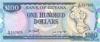 100 Долларов выпуска 1989 года, Гайана. Подробнее...