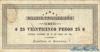 25 Песо выпуска 1891 года, Гондурас. Подробнее...