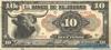 10 Песо выпуска 1913 года, Гондурас. Подробнее...