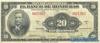 20 Лемпир выпуска 1941 года, Гондурас. Подробнее...