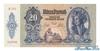 20 Пенге выпуска 1941 года, Венгрия. Подробнее...